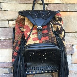 SergiosCollection Bags - Navajo Indian blanket one of a kind Backpack